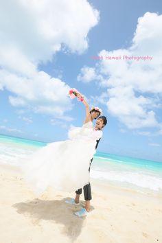 ビーチフォト、笑顔が一番っ! の画像|ハワイのフォトグラファー