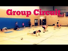 Advanced Full Body Circuit - Group Training Ideas - YouTube