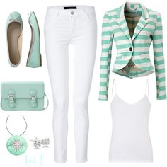 """Mint"" by lkthompson on Polyvore"