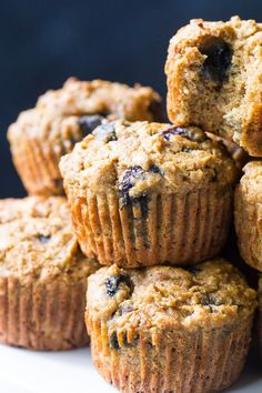 Tender, moist and hearty grain free and paleo blueberry zucchini muffins that everyone will love! The right combination of grain free flours gives them classic texture and unrefined coconut sugar adds the right amount of sweetness. Gluten free, dairy free, kid approved and great for breakfasts, brunches and snacks.