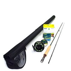 """Fishing: Redington Path 590-2 Fly Rod Outfit (9'0"""", 5wt, 2pc) -- Read more at…"""