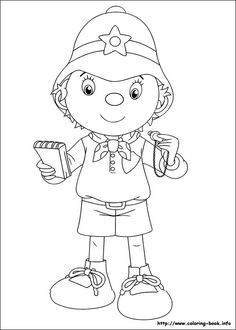noddy coloring picture online coloringcoloring bookwalt disneypencilcartooncleverdrawingschildrendrawing - Child Drawing Book