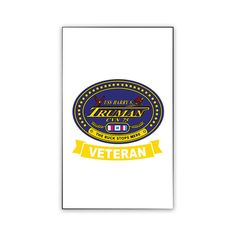 USS Harry S. Truman Veteran Magnet now available! Show your Navy Service pride on your refrigerator, car, file cabinet and other metallic surfaces! This custom magnet is 3 inches tall and 2 inches wide. Designed, Printed & Sublimated in the USA!