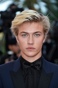 """Lucky Blue Smith Photos - Lucky Blue Smith attends the """"Julieta"""" premiere during the annual Cannes Film Festival at the Palais des Festivals on May 2016 in Cannes, France. - 'Julieta' - Red Carpet Arrivals - The Annual Cannes Film Festival Lucky Blue Smith, Blonde Boys, Blonde Hair Blue Eyes, Cute White Boys, Pretty Boys, World Handsome Man, Palais Des Festivals, Cannes Film Festival, Cute Guys"""