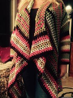 DIY Crochet Cardigan Sweater Free Patterns - Cretíque