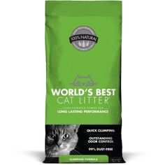 Worlds Best Cat Litter Clumping Formula 15Pound Bag ** Want to know more, click on the image.