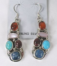 Emer Thompson NOS Navajo Bracelet, Necklace and Earrings Set
