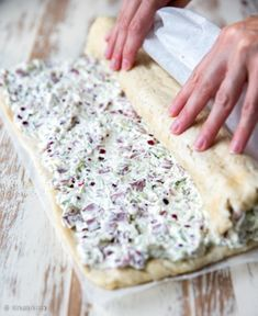 voileipakakkurulla-vaihe-4 Savory Pastry, Savoury Baking, I Love Food, Good Food, Yummy Food, Finnish Recipes, Salty Foods, No Salt Recipes, Different Recipes