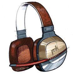 Sketches Headphones / Auriculares