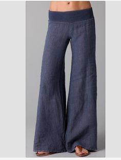 Linen pants for summer