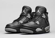 "Air Jordan 4 Retro ""Oreo"" (Tech Grey) Release Date & Official Pics"