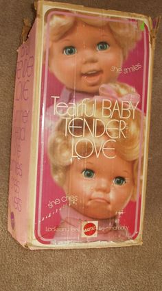 Tearful Baby Tender Love. Used to give her CPR just to hear her cry