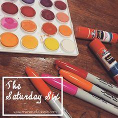 Click through to read my #SaturdaySix #blog update!