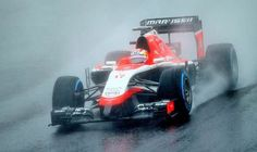 THE Formula One world has come together in an outpour of emotion and support for Marussia driver Jules Bianchi, who is in a critical condition in hospital after crashing at the Japan Grand Prix. Jules Bianchi Crash, Japan Grand Prix, Marussia F1, Miles Per Hour, Indy Car Racing, Watch F1, F1 Drivers, Formula One, Race Cars