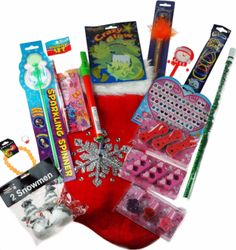 girls pre filled christmas stocking stuffed with 15 glam beauty toys novelties and treats great stocking - Pre Filled Christmas Stockings