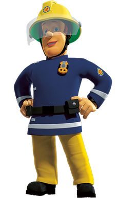 """Fireman Samuel """"Sam"""" Peyton Jones is the main character in the series. He works at the Pontypandy Great Fire Of London, The Great Fire, Fireman Sam Cake, Firefighter Training, Fireman Birthday, Sam Sam, Heroes Of The Storm, Baby Embroidery, Crafts For Boys"""