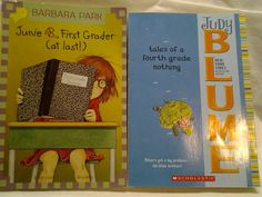 LOT OF 2 JUDY BLUME CHILDREN'S 1st Grader & tales of 4th Grade nothing