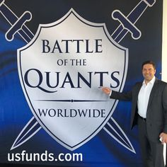 The Battle of the Quants is taking place in New York City! Frank Holmes and Mike Matousek are representing U. If you bump into them, make sure to say hello! Places In New York, Investors, Say Hello, Stock Market, Bump, Battle, Management, Marketing, Sayings