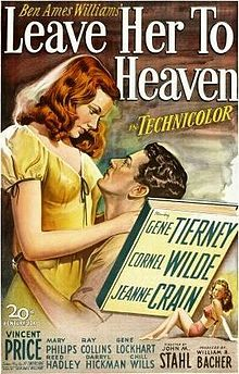Leave Her to Heaven (1945) starring the splendiferous Gene Tiermey and Cornel Wilde. Gene Tiermey is perfect in this amazing film noir role.