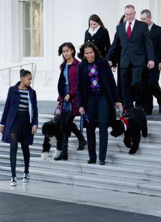 Michelle Obama Kicks Off a White House Christmas
