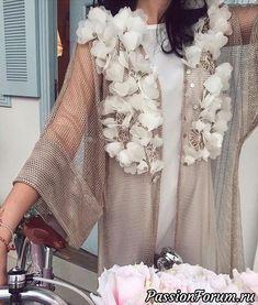 Вышивка. Техники, Идеи их интернета. - запись пользователя Olga202202 в сообществе Болталка в категории Интересные идеи для вдохновения Abaya Fashion, Fashion Line, Fashion Details, Fashion 2017, Fashion Dresses, Womens Fashion, Arab Swag, Abaya Designs, Kurta Men