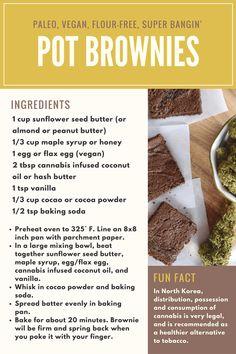 Paleo Pot Brownie Recipe
