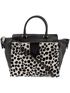 MILLY Dalmatian Print Tote. Maybe my new fall bag?