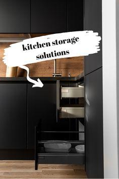 Kitchen storage ideas for your home. #kitchenorganization #kitchenorganizationideas #kitchenpantry #kitchenstorage #kitchendesign #kitchen #kitchenfurniture #mobila #mobiladebucatarie #bucatarii #bucatariimoderne #modernkitchens #KUXA #KUXAstudio #KUXAkitchens #bucatariiKuxa Kitchen Storage Solutions, Furniture, Studio, Design, Diy, Home Decor, Decoration Home, Bricolage, Room Decor