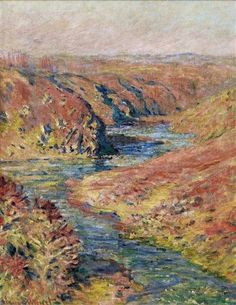 The Valley of Creuse at Fresselines 1889 Claude Monet