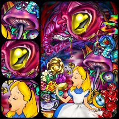 Alice in wonderland by Alister Dippner