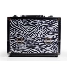 Danielle Enterprises MakeUp Case Cosmetics Trunk Zebra Print *** Check out the image by visiting the link.