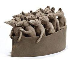 Embarcation de souris by Sophie Favre