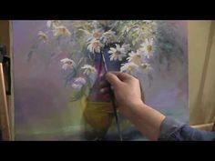"""Сирень"". Олег Буйко. Живопись масляными красками. Process of creating oil painting. 油畫 油絵 - YouTube"