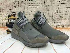 new concept e41fa b7fdf Mens Adidas Qasa High Shoes Dark Green,Adidas-Y-3 Shoes Sale Online
