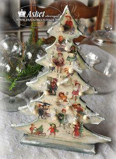adwent calendar - tree
