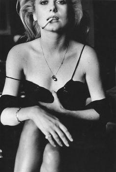 Catherine Deneuve, Esquire, Paris, 1976 by Helmut Newton