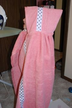 Crafts reDesigned: Hooded Towel Tutorial