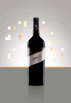 Cantine Angelo D'Uva - Opico - Merlot Red Wine, Beverage, Alcoholic Drinks, Ads, Bottle, Wedding, Canteen, Valentines Day Weddings, Drink