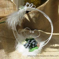 porte alliance thème vigne et raisin