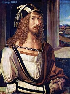 Self-Portrait, Albrecht Durer---a grown man.