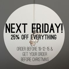 Next Friday is the last day for Christmas Delivery! So to celebrate closing for the holidays we're having a sale.  Place your orders by Friday 18th of December and it will arrive in time for Christmas! We also offer gift wrapping just in case you don't have time to do it yourself.   #necklace #jewellery #pastelblue #crystals #gems #quartz #gothic #snowflake #girl #alternative #fashion #womensfashion #wirewrapped #handmade #bestoftheday #grunge #style #lilac #life #spiritual #natural #pastel…