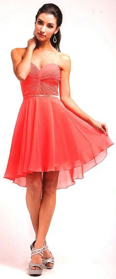 Homecoming Dresses<BR>Bridesmaid Dresses under $100<BR>7456<BR>A Little Sassy!<BR>AVAILABLE IN 18 COLORS!