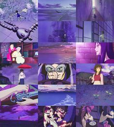 Colors of Studio Ghibli ~ Violet