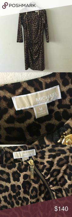 0c30cd899c7b0d Michael Kors Cheetah Dress Worn once in perfect condition! Gorgeous  dress!!! 100