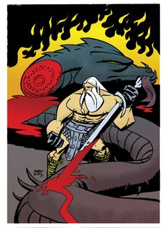 Comic Book Review: Head Lopper #1 — Court of Nerds