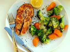Gourmet Balance - explore and enjoy: The easiest and healthiest recipe of salmon steak ...
