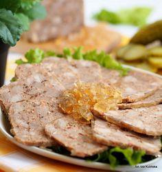 Smaczna Pyza sprawdzone przepisy kulinarne: Domowa wędlina - łopatka z szynkowara