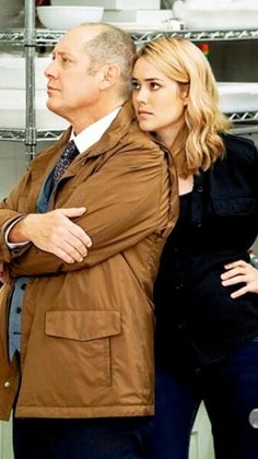 Spader and Boone of The Blacklist Blacklist Serie, The Blacklist Quotes, James Spader Blacklist, Elizabeth Keen, Megan Boone, Everybody Love Raymond, Four Year Old, Handsome Actors, Love Me Forever