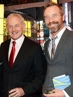 Victor Garber and Rainer Andreesen are SUCH a handsome couple! Love, love, love!!!