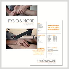 Fysio & More - creative strategy & design #mmousse #amsterdam #creativeagency #creativestrategy #concept #portfolio #design #inspiration #branding #fysio&more #foryourhealth #design #health